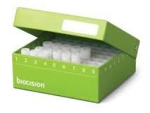 - Biocision BCS-217G Green TruCool Hinged CryoBox, LN2 Drain Holes (Pack of 5)