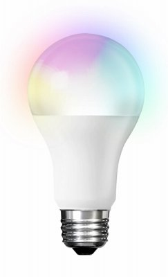 Feit Electric A800/RGBW/AG Smart WiFi LED Light Bulb, Color Changing and Tunable White, Works with Amazon A - Quantity 4