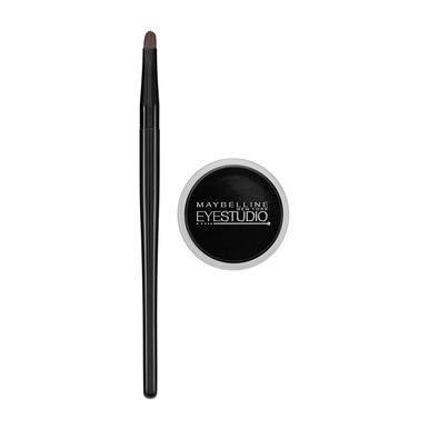 Maybelline New York Eye Studio Lasting Drama Gel Eyeliner, Blackest Black [950], 0.106 oz (Pack of 4)