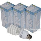 Smith Victor FL26 26 watt Fluorescent Standard Socket Lamp 3- Pack (100 watt Tungsten Equivalent Each)