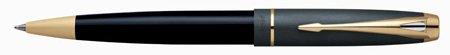Parker 100 Cobalt Black GT Medium Point Ballpoint Pen - 49769 by Parker (Image #1)