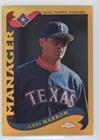 Jerry Narron (Baseball Card) 2002 Topps Chrome - [Base] - Gold Refractor (2002 Topps Chrome Baseball)