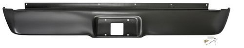 Ford Roll Pan (IPCW CWRS-9699F Ford Pickup/F150 Steel Styleside Roll Pan with License Plate Hole and)