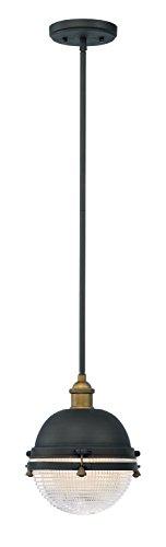 Maxim Lighting 10184OIAB Portside-Outdoor Hanging Lantern Portside Collection - Maxim Dome Light