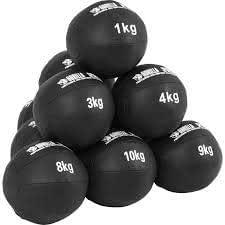 MUGAR Balon Medicinal Dos Tipos de 3 Kilos y 4 Kilos con Asas ...