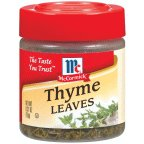 McCormick Thyme Leaves 0.37 OZ (Pack of 18)
