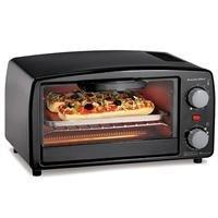 Hamilton Beach Proctor-Silex XL Black Toaster Oven Broiler 15 Minute Timer With Auto Shutoff from Hamilton Beach