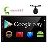*OS: Latest Android 6.0 Marshmallow Operation System (Pure Android OS) *Comes with Free Reverview Camera,It will automatically switch to rear view camera when reversing car. *Easy Connect feature *Bulit-in Bluetooth handsfree, Stereo Music Pl...