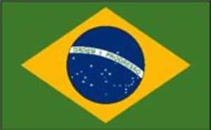 Brazil Flag 5Ft X 3Ft Brand New
