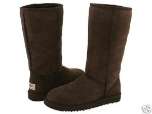 fb69c1dbbc5 CLASSIC TALL UGG BOOTS- CHOCOLATE-UK 5: Amazon.co.uk: Shoes & Bags