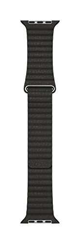 Apple 42mm Leather Loop - Large Smartwatch Replacement Band for Watch Series 1, Watch Series 2, Watch Series 3 - Charcoal Gray by Apple