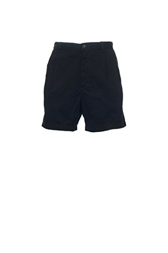 Club Room Mens Twill Double Pleat Casual Shorts Black 34 ()
