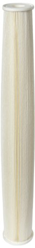 Pentek ECP5-20 Pleated Cellulose Polyester Filter Cartridge, 20'' x 2-5/8'', 5 Microns by Pentek