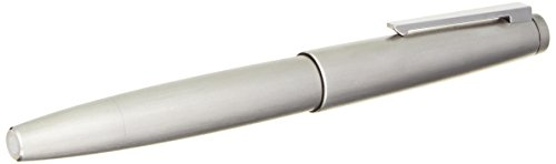 Fountain Pen Brushed Stainless Steel (LAMY 2000 Brushed Stainless Steel Fountain Pen Extra-Fine Nib (L02MEF))