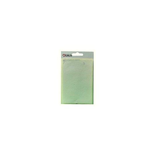 BLICK LABEL BAG 80X120 WHT PK7 004059 - Blick Label Bag
