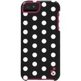 M-Edge Echo Case iPhone 5s/5 in Blk/Wht Polka Dot (Iphone 5 Polka Dot Case)