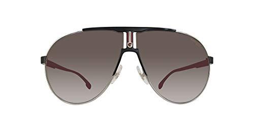 (Carrera Men's Ca1005s Aviator Sunglasses, Ruthenium Matte Black/Gray Blue, 66 mm)