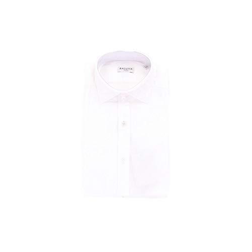Bagutta Men's Berlino06991white White Cotton Shirt
