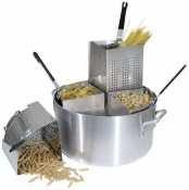 Winco Pasta Cooker - Winco Precision Aluminum Pasta Cooker, 20 Quart - 1 set.