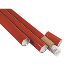 SHPTT3036 - Shoplet select Red Telescoping Mailing Tubes (Tubes Mailing Telescoping)