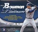 2011 Bowman Platinum Baseball Cards Hobby Box