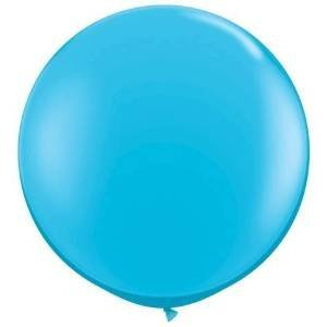 36 Inch Giant Round Turquoise Latex Balloons by TUFTEX (Premium Helium Quality) Pkg/3 for $<!--$10.28-->