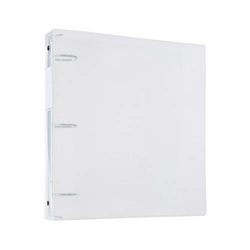 Filexec Products 1.5-Inch 3 Ring Binder, Clear, Pack of 2 - Ring Clear Binders 3