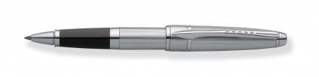 AT Cross Pens Cross Pen Apogee Collection At0125-1 Rolling Ball Chrome Pen - One Chrome Pen