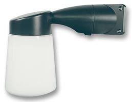 ETERNA Black Cast Aluminium Body Corner Mounting Outdoor Wall Light IP65 Rated WGBK