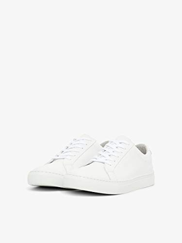 Bianco Biabertil Sneaker white 800 Herren Leather Weiß vvFwqZx6r