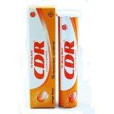 CDR Calcium-d-redoxon 15 Effervescent Tablets Orange Flavour (Pack of 3) ()
