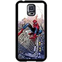 Spiderman Samsung Galaxy S5 I9600 Case Cartoon Image Design Hard Back Cover