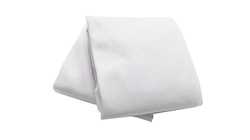 Baby Doll Bedding 2 Piece Cradle Sheets, White