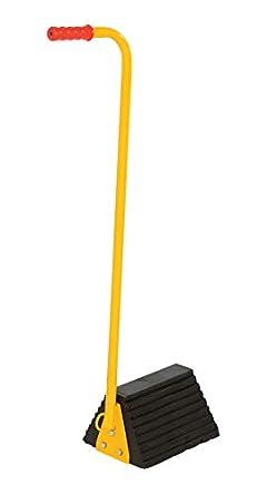 Amazon.com: vestil rwc-8-ergo Mango Ergo goma Rueda Chock ...