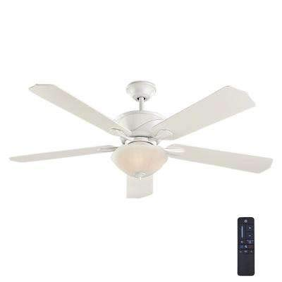 Shenandoah Collection - Home Decorators Collection Shenandoah 60 in. White Ceiling Fan