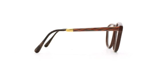 GOLD & WOOD - Monture de lunettes - Femme Jaune Yellow Red Green Brown