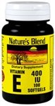 Cheap Nature's Blend Vitamin E 400Iu Capsules 100 Ct