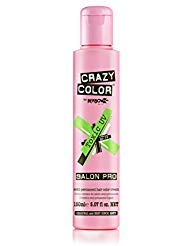 Crazy Color Semi Permanent Hair Color Cream, 150ML (TOXIC) (Color Hair Dye Crazy)