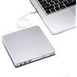 YAHE External DVD Drive,USB 2.0 Slim Portable External CD/DV