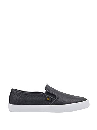 GUESS Women's by Black Sneakers Malden Logo On Slip G agB7f5nf