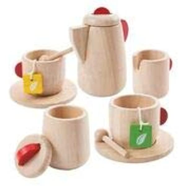 Details about  /Wooden Tea Set /& Kitchen Condiment Kid Pretend Play Food Cook Developmental Toys