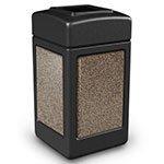 Stonetec Series 42-Gal Panel Color: Black and Brown
