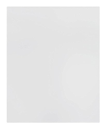 Cabinet Doors 'N' More 16'' X 22'' White RTF Slab Kitchen Cabinet Door by Cabinet Doors 'N' More