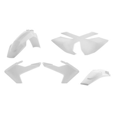 Acerbis Replica Plastic Kit White for Husqvarna FC 450 (Acerbis Plastic Kits)