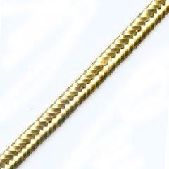 Perles & Co Cordoncino soutache mm. 2, 5 dorato x m. 2