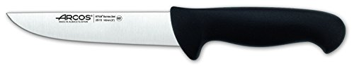 Arcos 2900 Range 6-1/2-Inch Butcher Knife, Black by ARCOS