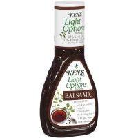 Ken\'s Steak House Light Options Balsamic Vinaigrette Dressing, 9 Ounce