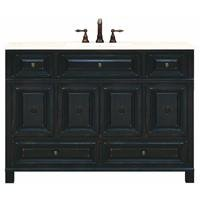 SUNNYWOOD PRODUCTS Barton Hill 48'' Wood Vanity Cabinet Only, Antique Black by SUNNYWOOD PRODUCTS