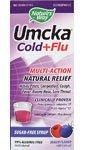 old and Flu Sugar-Free Syrup Berry -- 4 fl oz (Umcka Cold Care Sugar)