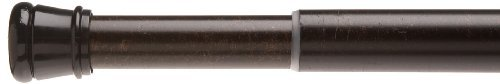 Bronze Shower Rod (Carnation Home Fashions Adjustable 41-to-72-Inch Steel Shower Curtain Tension Rod, Bronze)